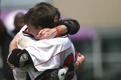sports hug