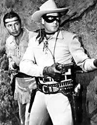 Lone Ranger and Tonoto